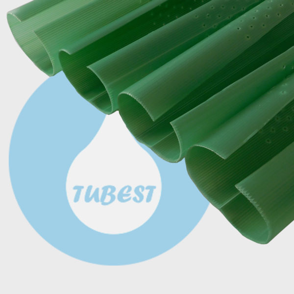 Tubo protector plástico plantas